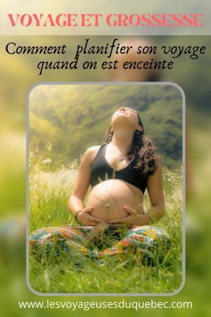 Voyage et grossesse : Planifier son voyage lorsqu'on est une femme enceinte #grossesse #enceinte #voyage #conseils
