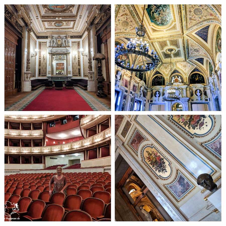 Opéra national Staatsoper de Vienne dans notre article Visiter Vienne en Autriche : que voir et que faire à Vienne en 5 jours #vienne #autriche #europe #voyage