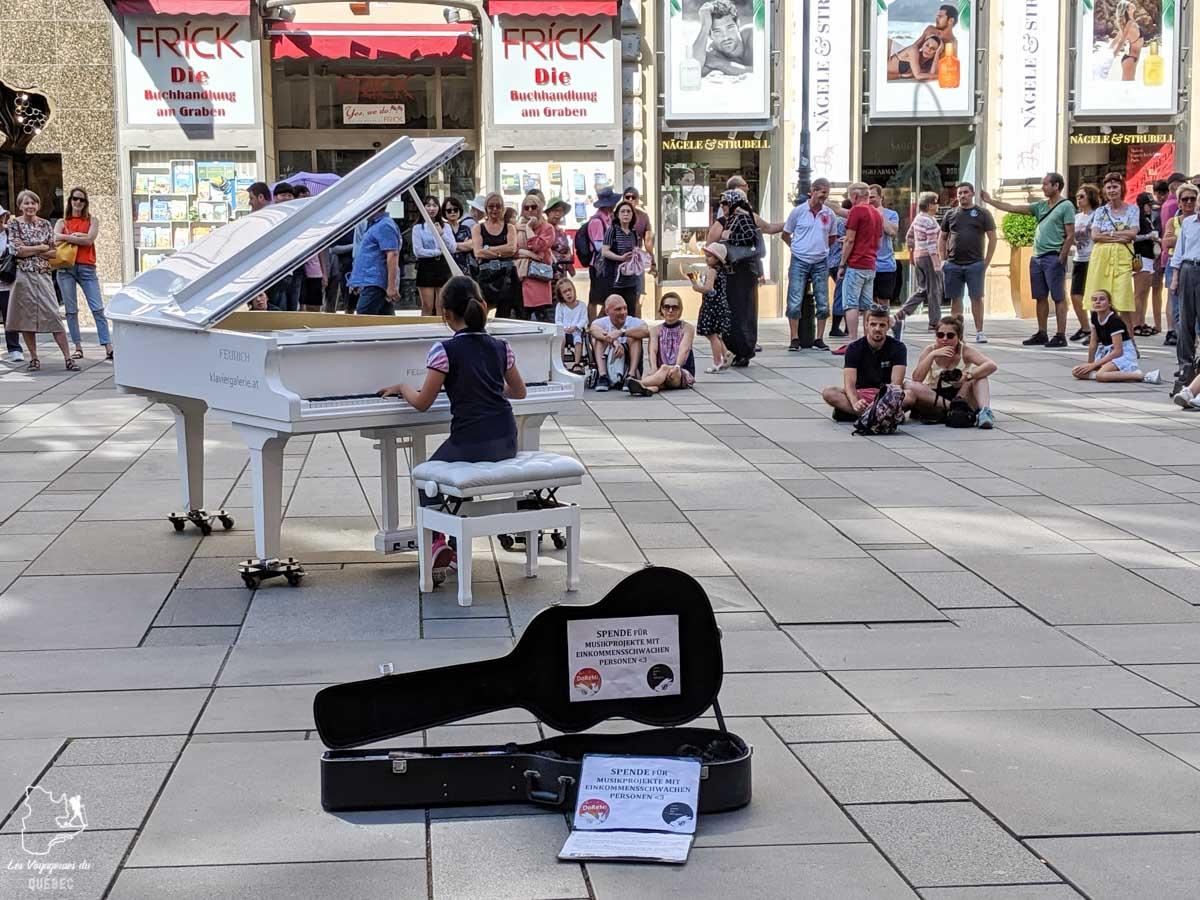Spectacle de rue à Vienne dans notre article Visiter Vienne en Autriche : que voir et que faire à Vienne en 5 jours #vienne #autriche #europe #voyage