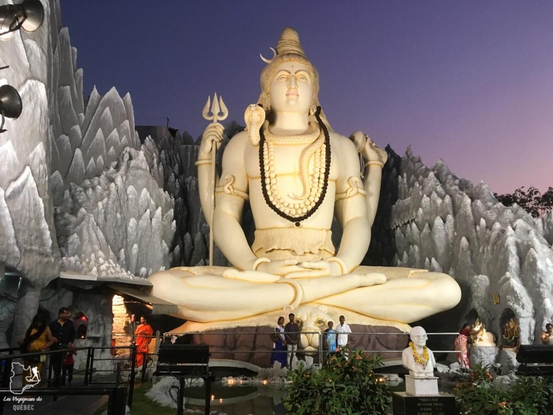 Shiva à Bangalore en Inde dans notre article Quand le voyage t'aide à garder la tête hors de l'eau #reflexion #voyage #depression