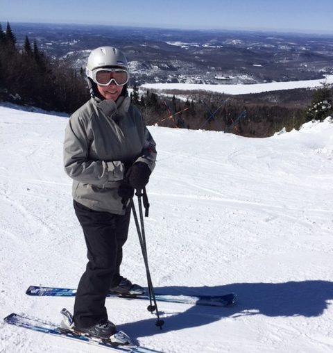 Ski alpin au Mont Grand-Fonds à Charlevoix dans notre article Visiter Charlevoix au Québec: Quoi faire dans Charlevoix entre fleuve et montagnes #charlevoix #quebec #voyage #canada