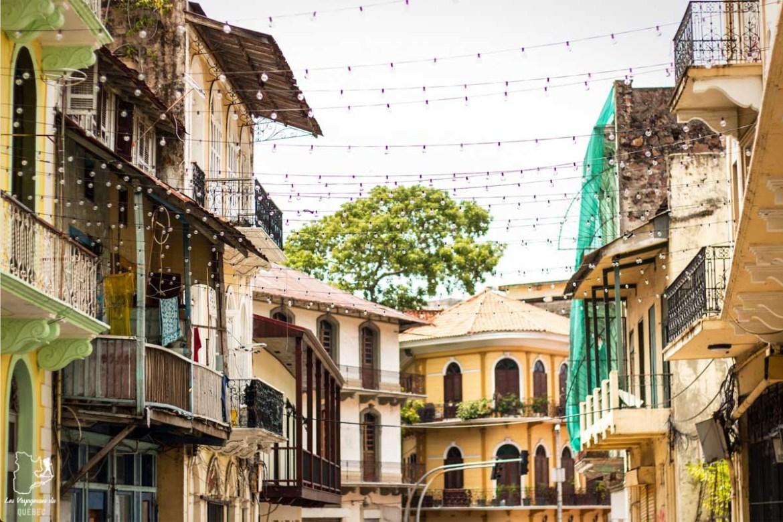 Bâtiments coloniaux de Casco Viejo à Panama Ciudad dans notre article Que faire au Panama : Mon voyage au Panama en 12 incontournables à visiter #panama #ameriquecentrale #voyage