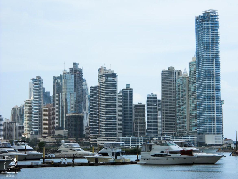 Vue sur le centre-ville de Panama ciudad depuis la Cinta Costera dans notre article Que faire au Panama : Mon voyage au Panama en 12 incontournables à visiter #panama #ameriquecentrale #voyage