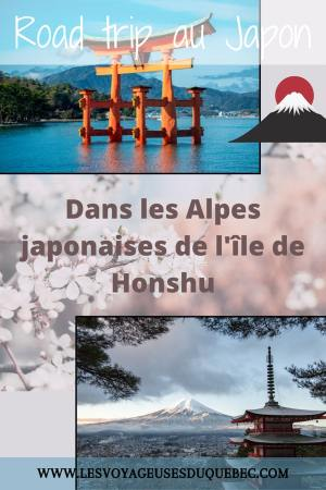 Alpes japonaises: road trip au Japon dans les montagnes de l'île de Honshū #japon #alpes #alpesjaponaises #roadtrip #asie #voyage #honshu