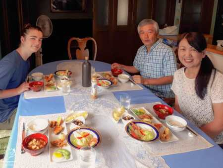 Chez nos hôtes à Seki dans notre article Alpes japonaises: road trip au Japon dans les montagnes de l'île de Honshū #japon #alpes #alpesjaponaises #roadtrip #asie #voyage #honshu