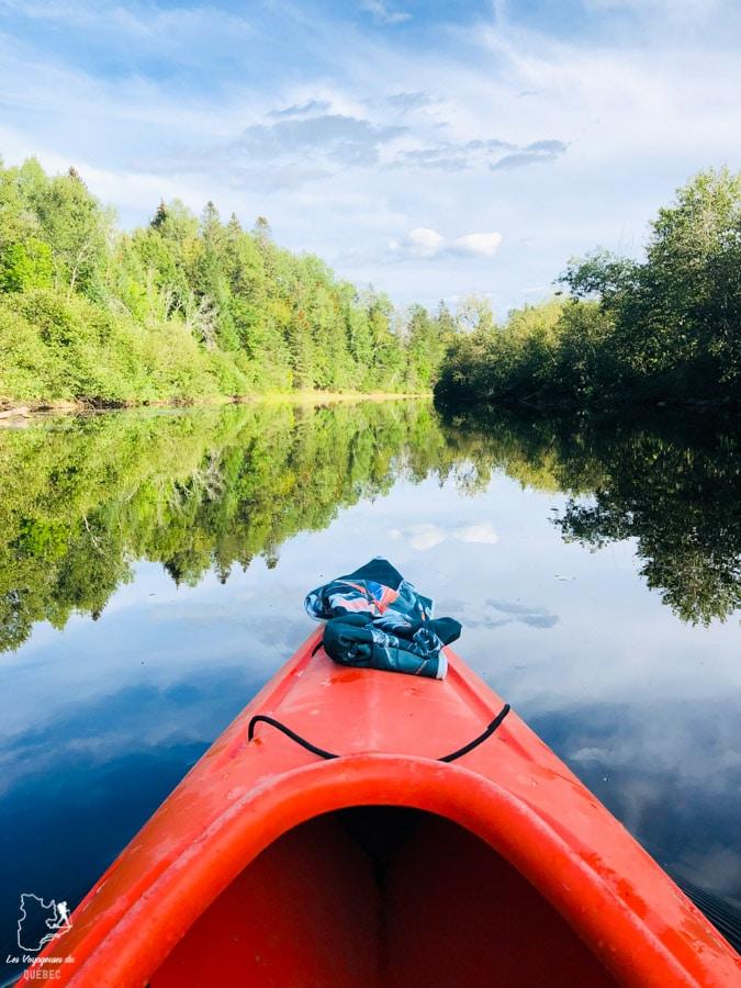 Kayak au Parc de la Mauricie dans notre article Road trip au Québec: 15 road trips thématiques à moins de 2h de Montréal #roadtrip #quebec #itineraire