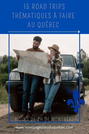 Road trip au Québec: 15 road trips thématiques à moins de 2h de Montréal #roadtrip #quebec #itineraire