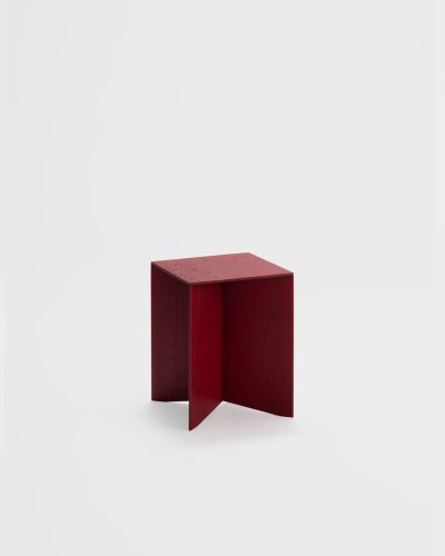 paperwood side table red