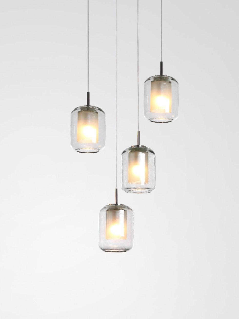chandelier handblown pendant lamp David Pompa