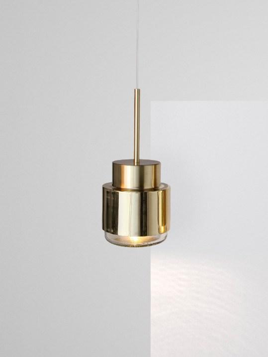 Cupallo brass lamp Les Vrais