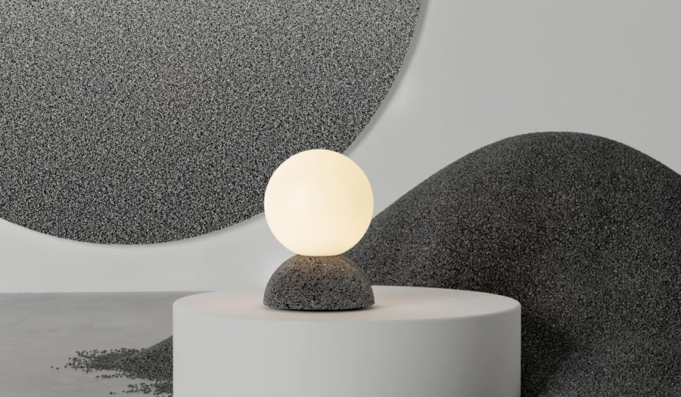 Origo Collection made out of volcanic rock