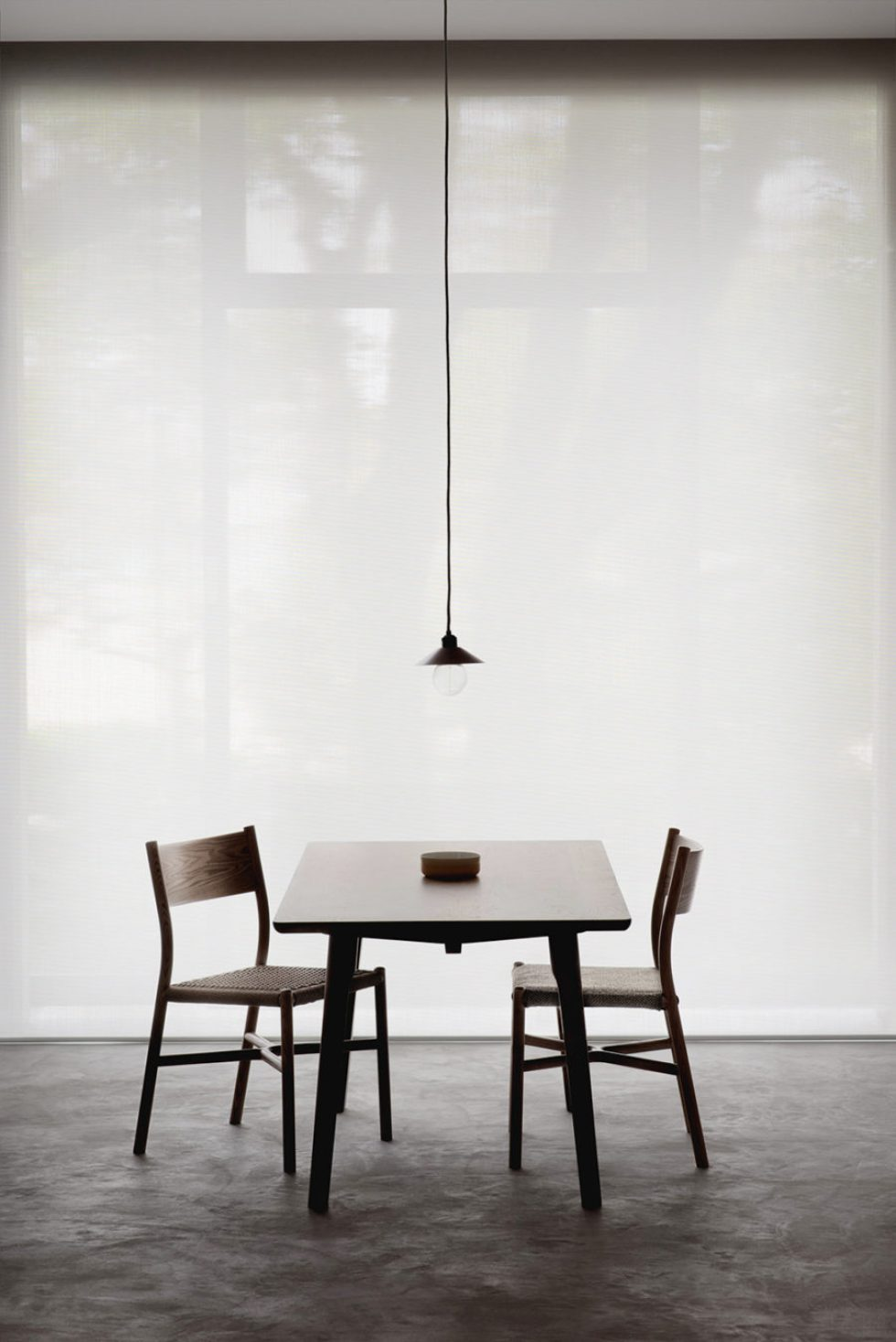 dining table with ariake chairs design furniture