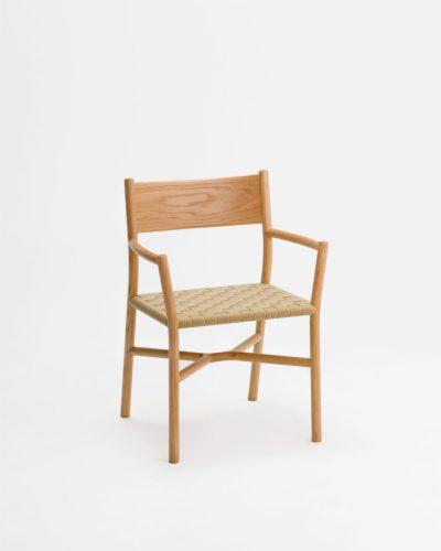 ariake armchair gabriel tan oak