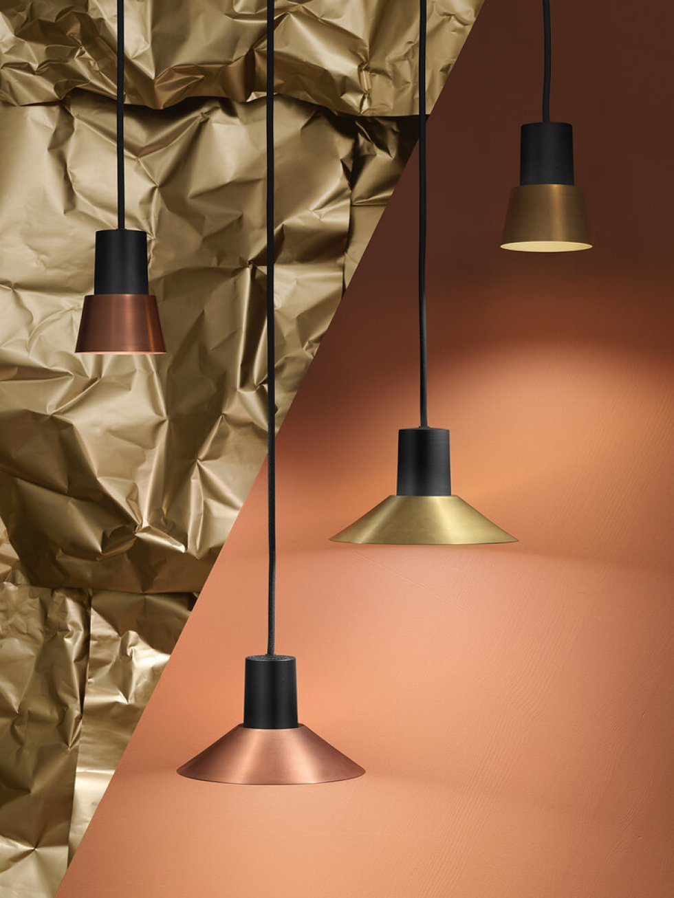 compose zero lighting copper brass