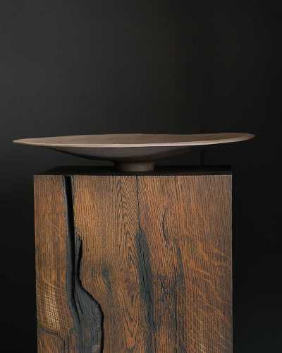 Solid Square Log (Oak) by DRY Studios