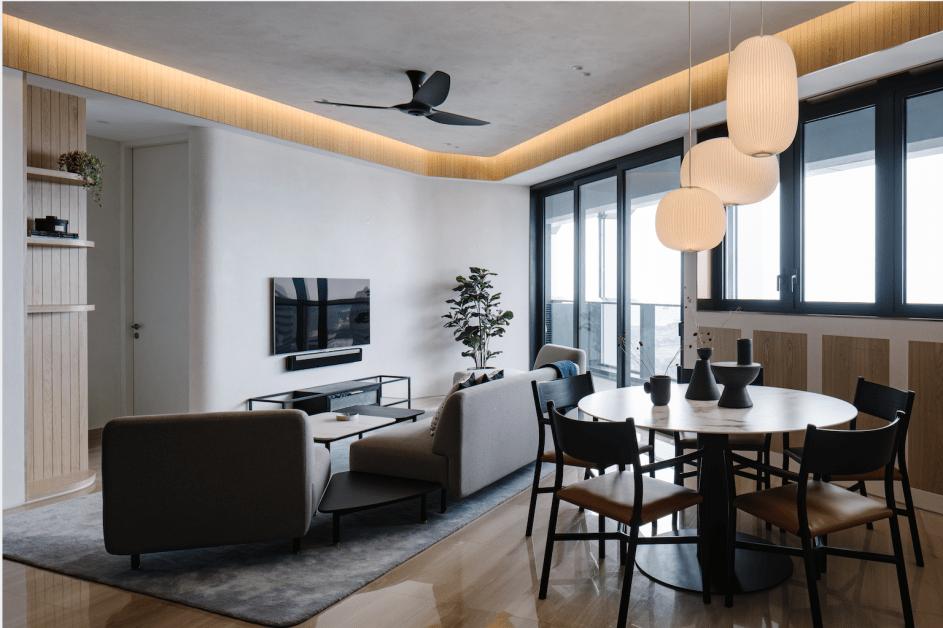 Duo residence penthouse, Ariake, Ariake Chair, LES VRAIS,