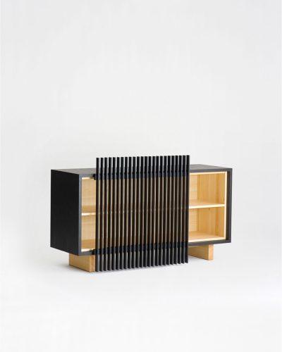 kumiko cabinet low ariake