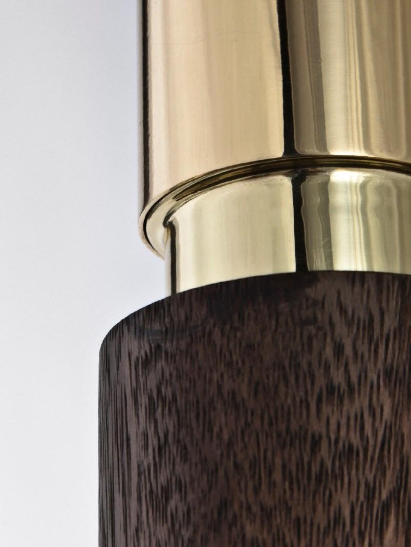 amelia pendant in saman wood
