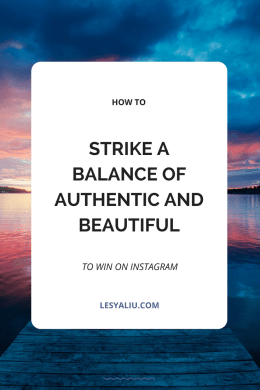 authentic Instagram ideas