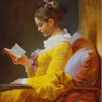 """La liseuse"" de Jean-Honoré Fragonard"