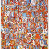 """Numbers in color"" de Jasper Johns"