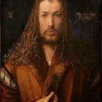 """""""Autoportrait à la fourrure"""" d'Albrecht Dürer"""