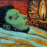 """""""La mort de Casagemas"""" de Pablo Picasso"""