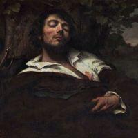 """""""L'homme blessé"""" de Gustave Courbet"""