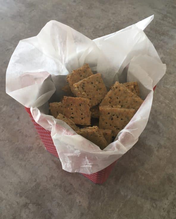 Craquelins sans gluten
