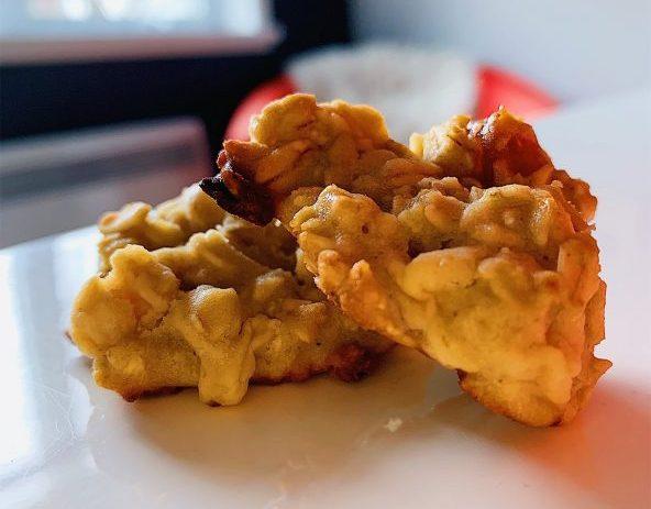 Biscuits aux pommes, dattes et avoine