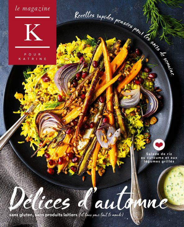 Délices d'automne: Le nouveau magazine de K pour Katrine