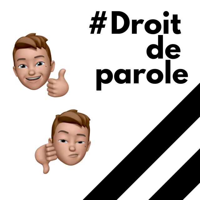 #droitdeparole.leszackardises