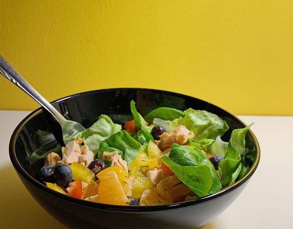Salade de poulet à l'orange