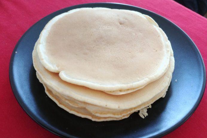 Pancakes sans produits laitiers