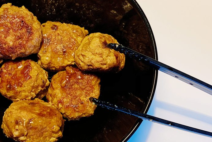 Boulettes de porc asiatiques