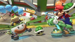 Bowser Jr et Mario