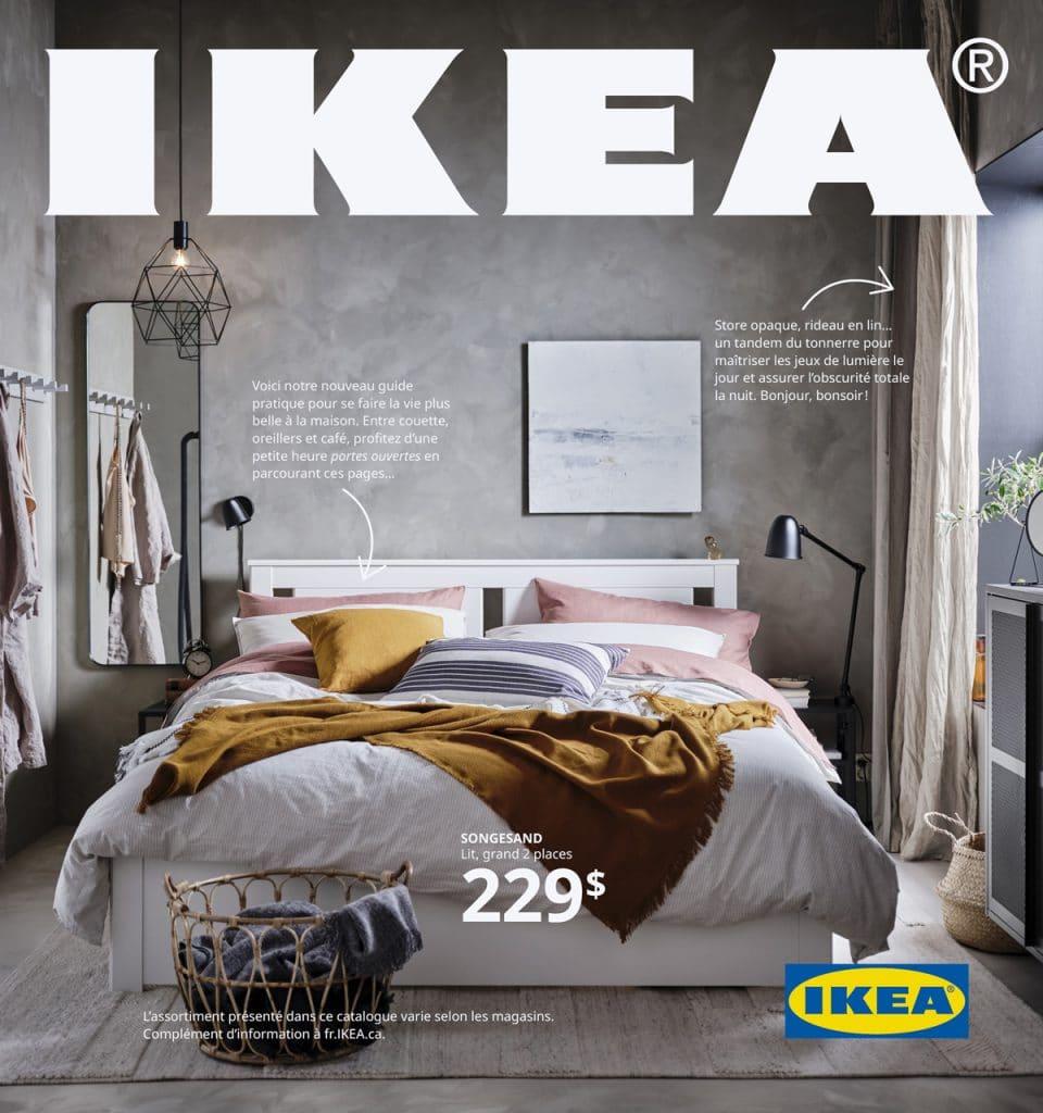 Voici la couverture du catalogue IKEA 2021!