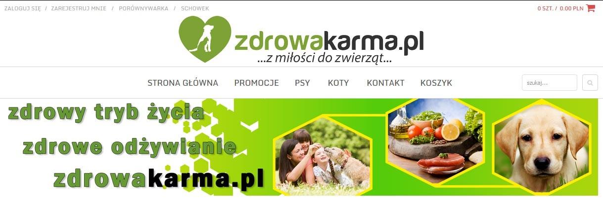 zdrowakarma.pl - sklep internetowy