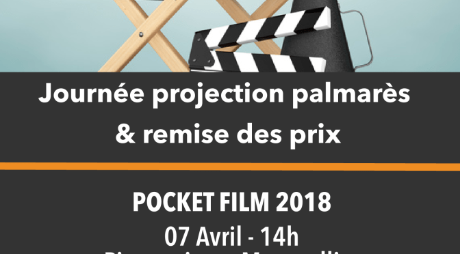 7 avril Pocket film : projections et animations à Pierresvives