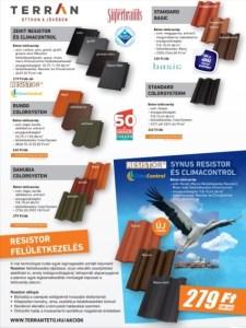 Építőanyag akció - Terrán tető