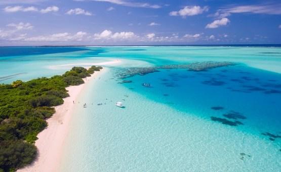 Maldivi - Z letalom na poti