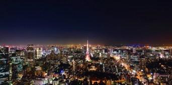 Tokyo - Z letalom na poti