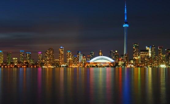 Toronto - Z letalom na poti