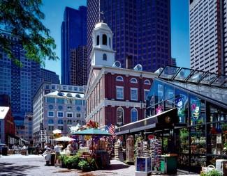 Boston - Z letalom na poti