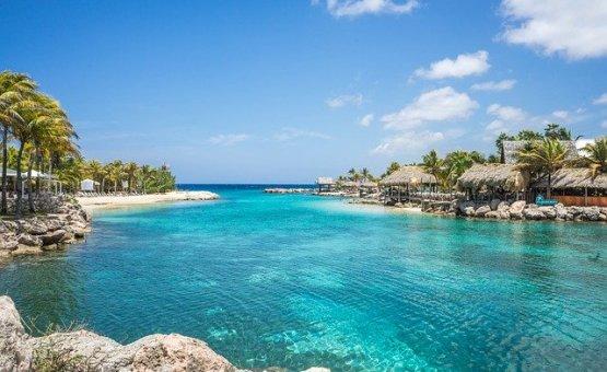 Curacao - Z letalom na poti
