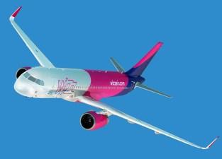 Wizz - Z letalom na poti