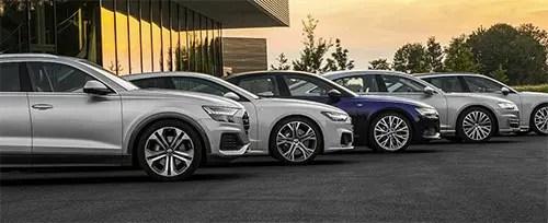 Audi nuevos en Barcelona