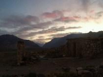 Après la côte de boeuf, le coucher de soleil