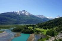 Début des rivières turquoises