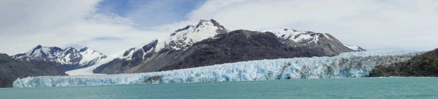 Le glacier O'Higgins